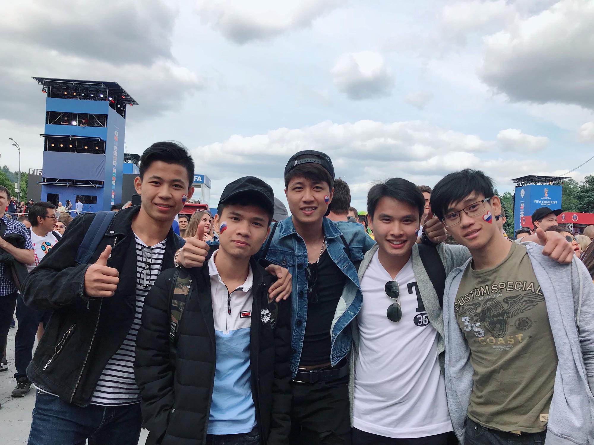 Du học sinh Việt tại Nga đang khiến bạn bè ở quê nhà ghen tỵ vì được đến tận nơi xem World Cup 2018 - ảnh 1