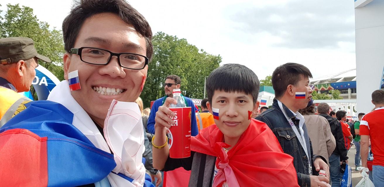 Du học sinh Việt tại Nga đang khiến bạn bè ở quê nhà ghen tỵ vì được đến tận nơi xem World Cup 2018 - ảnh 5