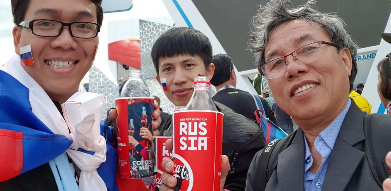 Du học sinh Việt tại Nga đang khiến bạn bè ở quê nhà ghen tỵ vì được đến tận nơi xem World Cup 2018 - ảnh 6