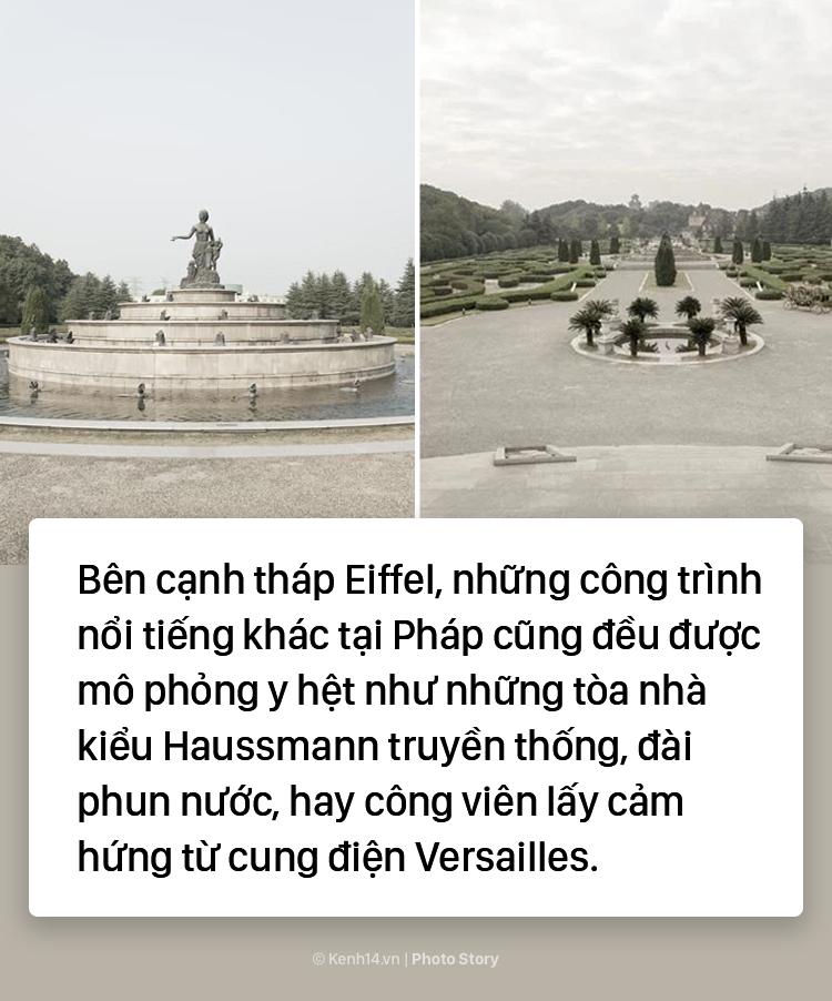 """Tháp Eiffel """"made in China"""" cứu sống thị trấn ma ở Trung Quốc - Ảnh 13."""