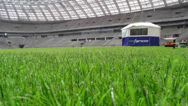 """Bất chấp tranh cãi, chung kết World Cup 2018 sẽ sử dụng sân cỏ """"lai"""" lần đầu tiên và đây là lí do - Ảnh 1."""