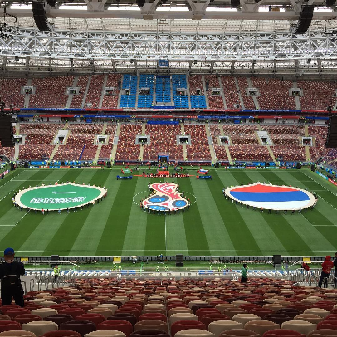 Người hâm mộ trên khắp thế giới hào hứng chờ đón khai mạc World Cup 2018 - Ảnh 13.