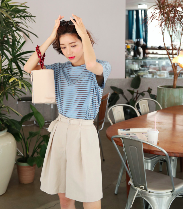 """""""Quần shorts của mẹ"""" - mốt quần mới năm nay đảm bảo mặc mát và hoàn toàn có thể diện tới sở làm - Ảnh 14."""