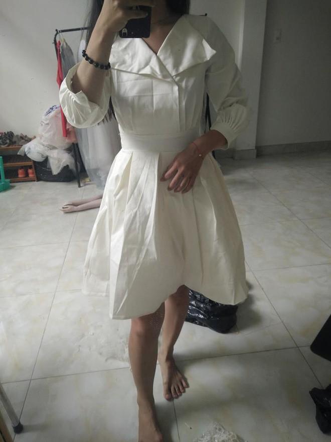 Đặt mua váy công chúa qua mạng, cô gái nhận được thứ giống y tạp dề của Lọ Lem lúc chưa gặp bà tiên... - Ảnh 2.
