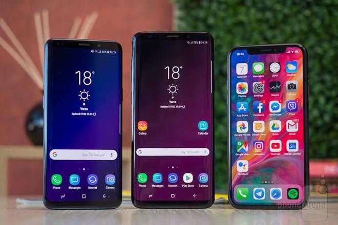 Bất ngờ chưa, iPhone X đã bị bộ đôi Galaxy S9/S9+ tước ngôi vị smartphone bán chạy nhất thế giới - Ảnh 2.