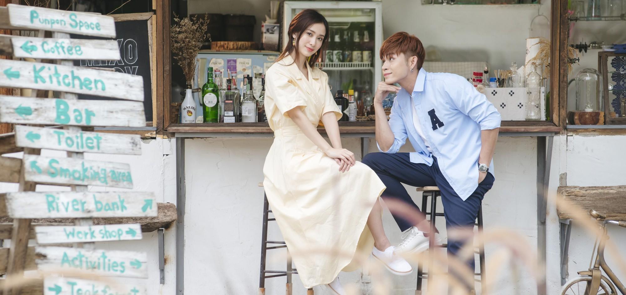 Jun Vũ làm cô gái nhà bên trong sáng, bẽn lẽn hôn má Jun Phạm trong MV mới - Ảnh 4.