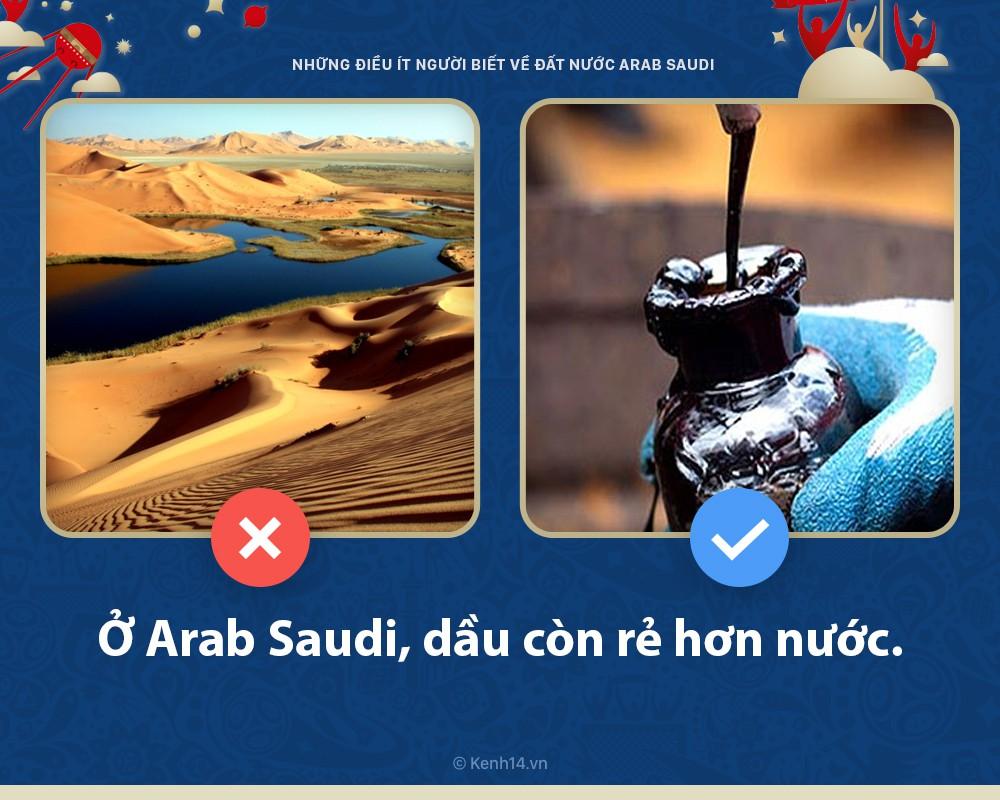5 điều bất ngờ ít người biết về Arab Saudi - đất nước sẽ đối đầu với nước Nga chủ nhà World Cup hôm nay 2