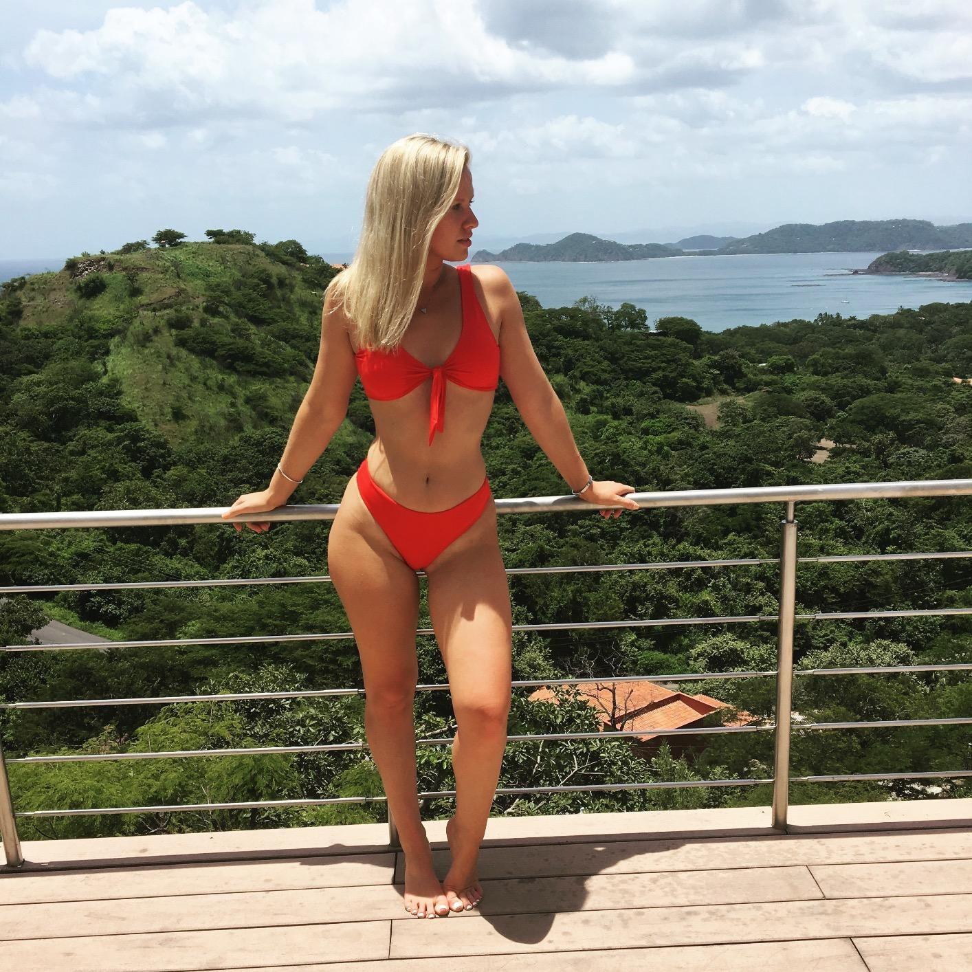 Bộ bikini chỉ 300k mà béo gầy mặc đều đẹp này đang gây sốt trên Amazon, chị em thi nhau khoe ảnh người thật việc thật vì quá hài lòng - Ảnh 7.