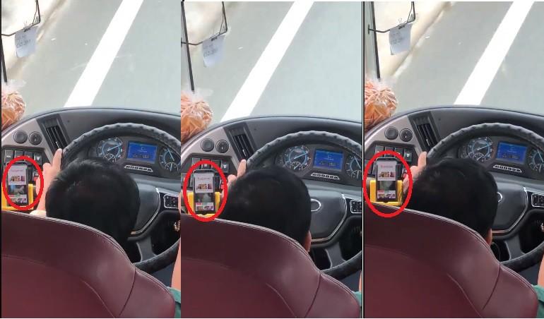 Tài xế Phương Trang vừa lái xe vừa xem phim người lớn bị xử lý thế nào? - Ảnh 1.