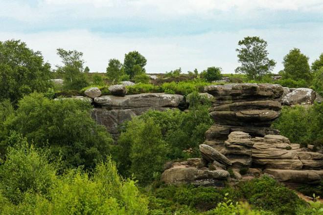 Tác phẩm điêu khắc tự nhiên 320 triệu năm tuổi tại Anh vừa bị 5 thanh niên phá hủy... cho vui 13