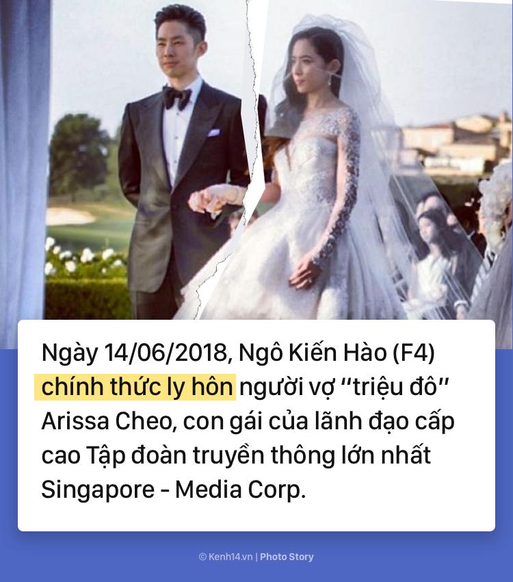 Toàn cảnh vụ ly hôn đình đám, tốn nhiều giấy mực của báo chí giữa Ngô Kiến Hào (F4) và người vợ triệu đô Arissa Cheo - Ảnh 1.