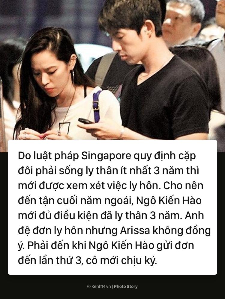 Toàn cảnh vụ ly hôn đình đám, tốn nhiều giấy mực của báo chí giữa Ngô Kiến Hào (F4) và người vợ triệu đô Arissa Cheo - Ảnh 3.