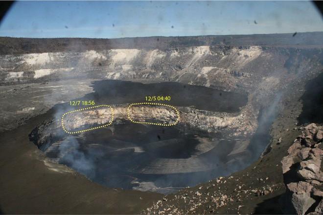 Dùng drone quan sát núi lửa vừa tàn phá Hawaii, chuyên gia phát hiện ra miệng núi vẫn đang mở rộng mỗi ngày - Ảnh 2.