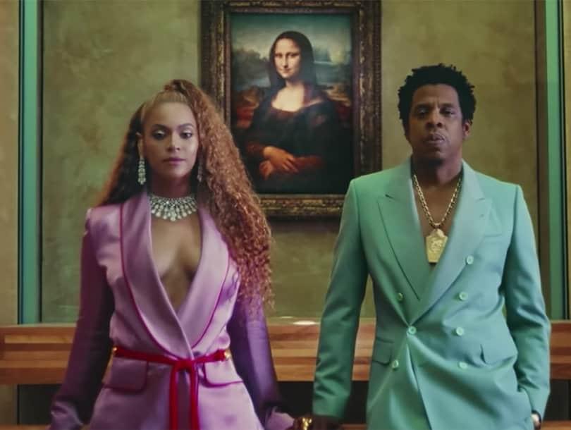Vợ chồng quyền lực Beyoncé và Jay-Z bất ngờ ra mắt MV APES  T