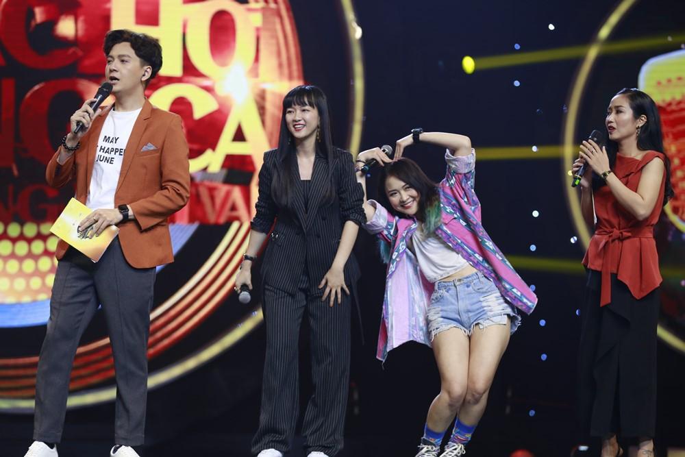 Nhạc hội song ca: Hoàng Yến Chibi đem nhạc phim Tháng năm rực rỡ thử thách Ngô Kiến Huy & Dương Triệu Vũ - Ảnh 10.
