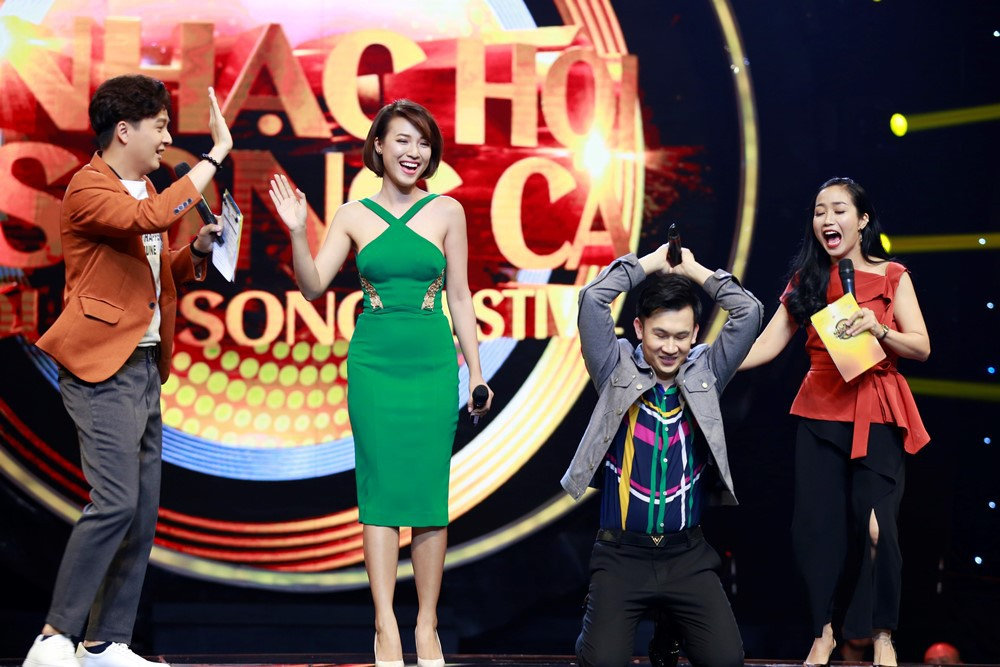 Nhạc hội song ca: Hoàng Yến Chibi đem nhạc phim Tháng năm rực rỡ thử thách Ngô Kiến Huy & Dương Triệu Vũ - Ảnh 2.