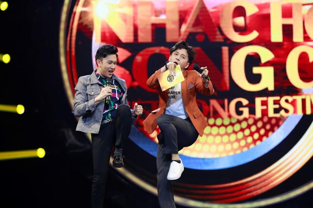 Nhạc hội song ca: Hoàng Yến Chibi đem nhạc phim Tháng năm rực rỡ thử thách Ngô Kiến Huy & Dương Triệu Vũ - Ảnh 5.