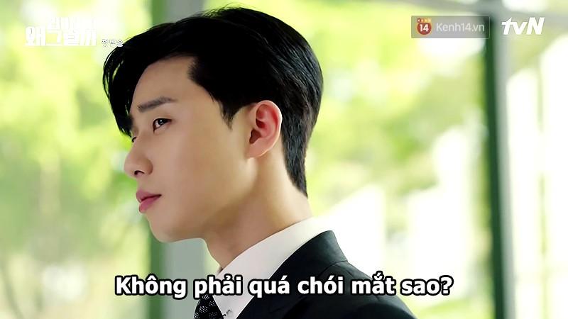 Đỡ không nổi 15 phát ngôn chấn động nhất của thánh tự luyến Park Seo Joon trong Thư Ký Kim - Ảnh 1.
