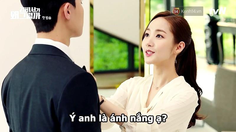 Đỡ không nổi 15 phát ngôn chấn động nhất của thánh tự luyến Park Seo Joon trong Thư Ký Kim - Ảnh 2.