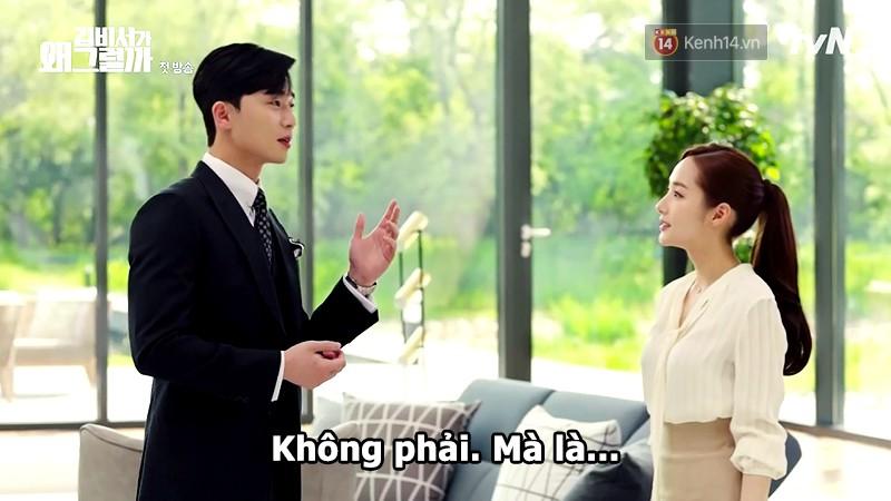Đỡ không nổi 15 phát ngôn chấn động nhất của thánh tự luyến Park Seo Joon trong Thư Ký Kim - Ảnh 3.