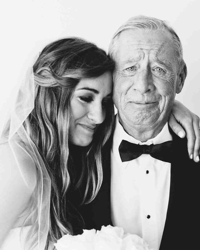 Những hình ảnh xúc động chứng minh rằng, người đàn ông hạnh phúc nhất trong ngày cưới chính là bố của cô dâu 2