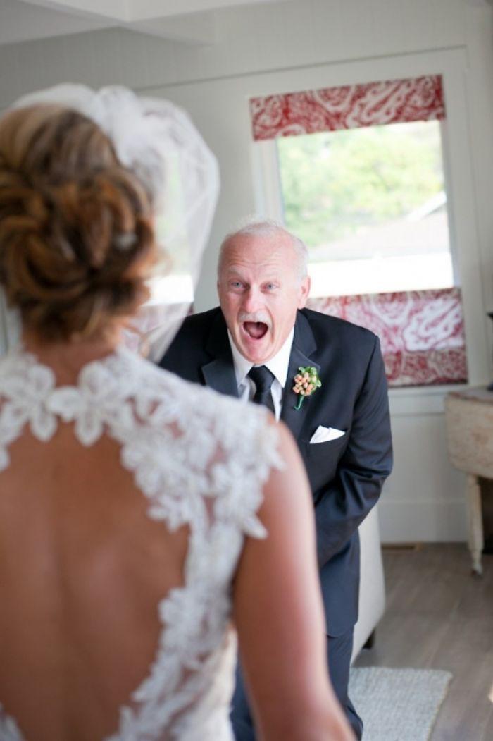 Những hình ảnh xúc động chứng minh rằng, người đàn ông hạnh phúc nhất trong ngày cưới chính là bố của cô dâu 3