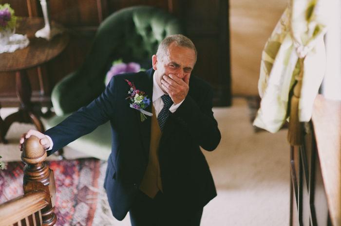 Những hình ảnh xúc động chứng minh rằng, người đàn ông hạnh phúc nhất trong ngày cưới chính là bố của cô dâu 6