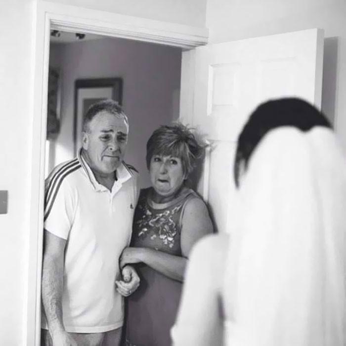 Những hình ảnh xúc động chứng minh rằng, người đàn ông hạnh phúc nhất trong ngày cưới chính là bố của cô dâu 7