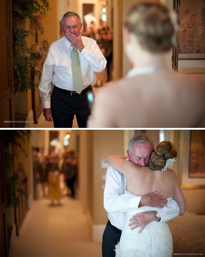 Những hình ảnh xúc động chứng minh rằng, người đàn ông hạnh phúc nhất trong ngày cưới chính là bố của cô dâu 18