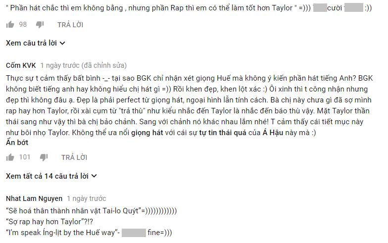 Tuyên bố sợ rap hay hơn Taylor Swift, Á hậu Hà Thu nhận lượt dislike khủng tại Gương mặt thân quen - Ảnh 5.