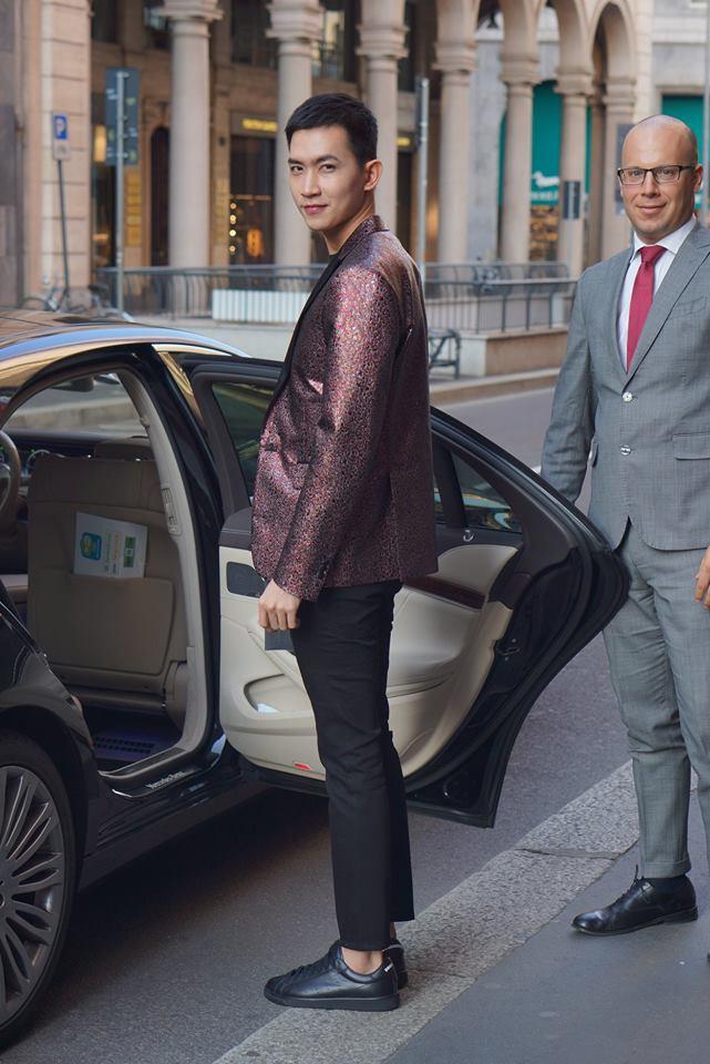 Võ Cảnh được mời dự show, Vũ Khắc Tiệp ngồi hàng ghế đầu trong show Dsquared2 tại Tuần lễ thời trang nam Milan 2018 - Ảnh 2.