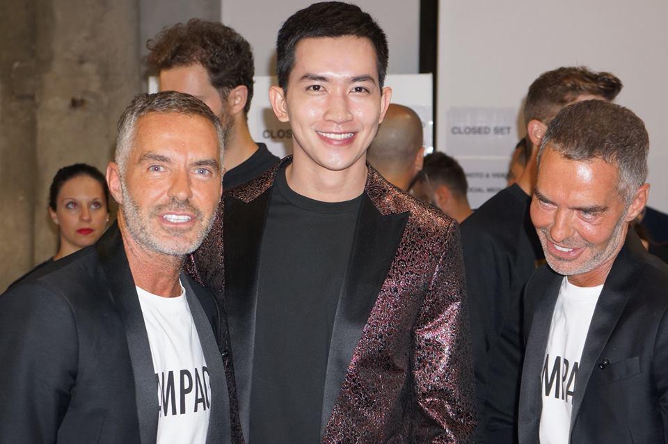 Võ Cảnh được mời dự show, Vũ Khắc Tiệp ngồi hàng ghế đầu trong show Dsquared2 tại Tuần lễ thời trang nam Milan 2018 - Ảnh 4.