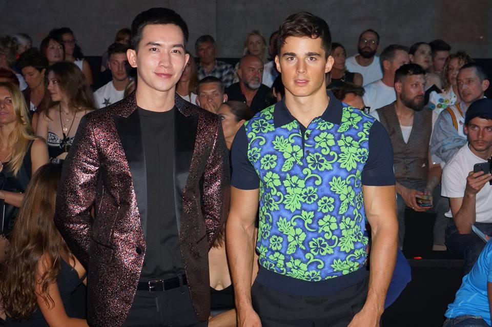 Võ Cảnh được mời dự show, Vũ Khắc Tiệp ngồi hàng ghế đầu trong show Dsquared2 tại Tuần lễ thời trang nam Milan 2018 - Ảnh 5.