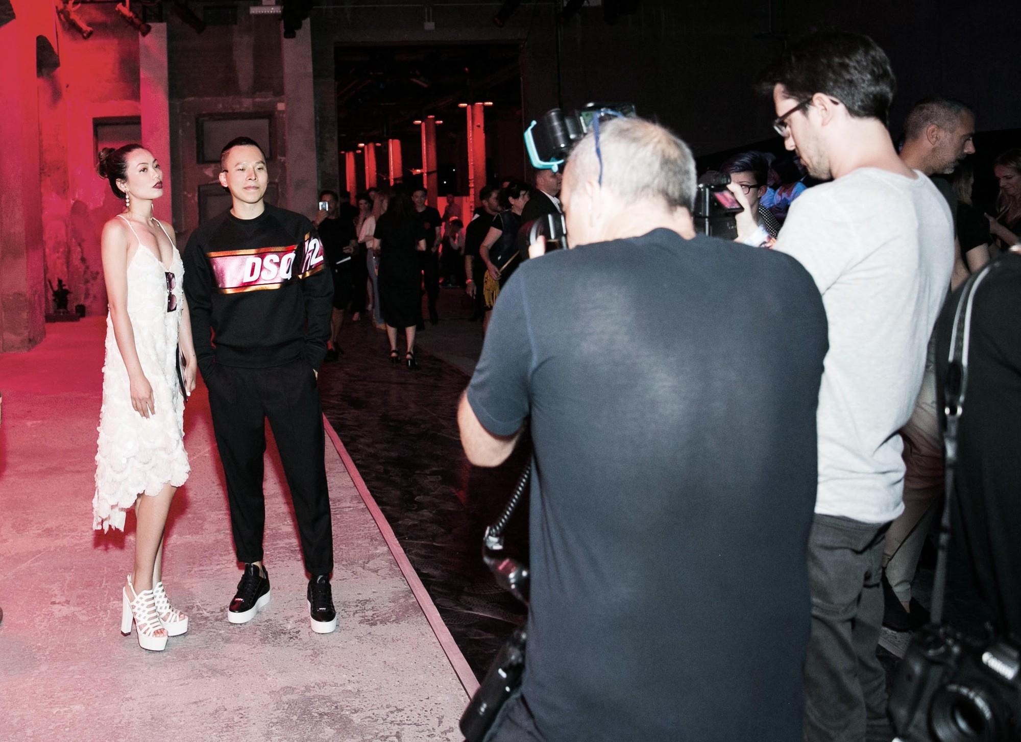 Võ Cảnh được mời dự show, Vũ Khắc Tiệp ngồi hàng ghế đầu trong show Dsquared2 tại Tuần lễ thời trang nam Milan 2018 - Ảnh 10.