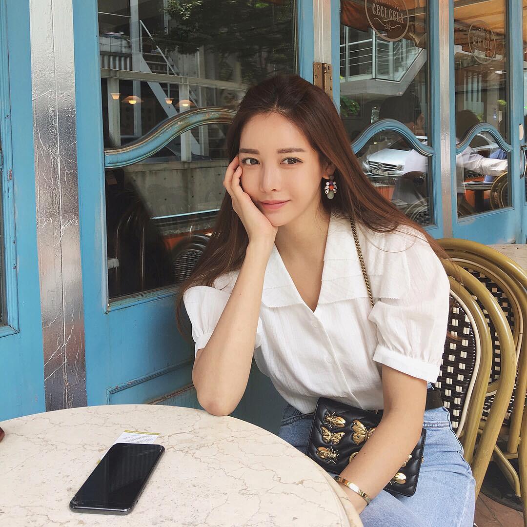 Diện chán các màu tóc tẩy thời thượng, con gái châu Á đang đồng loạt quay lại với tóc nâu hè này - Ảnh 5.