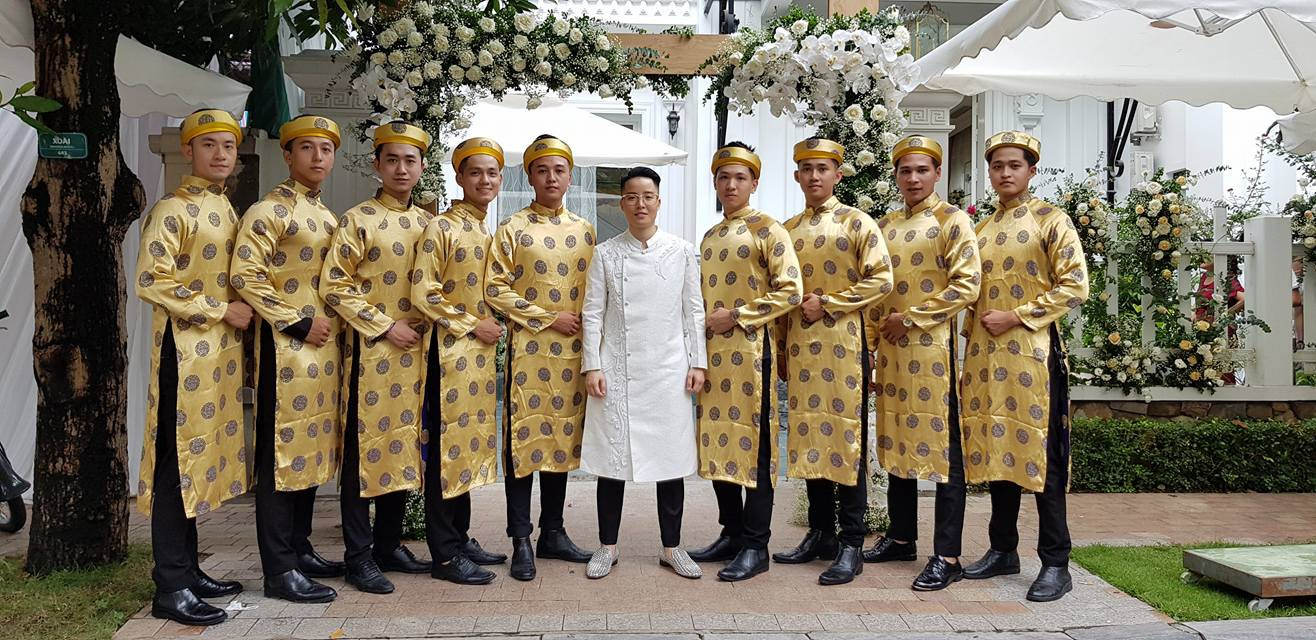 9X chuyển giới Tú Lơ Khơ kết hôn với bạn gái doanh nhân ở không gian tiệc cưới sang trọng bậc nhất Hà Nội - Ảnh 3.