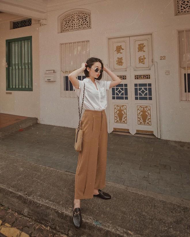 Học cách diện đồ giúp làm dịu cái nắng hè qua street style của các quý cô Châu Á - Ảnh 4.
