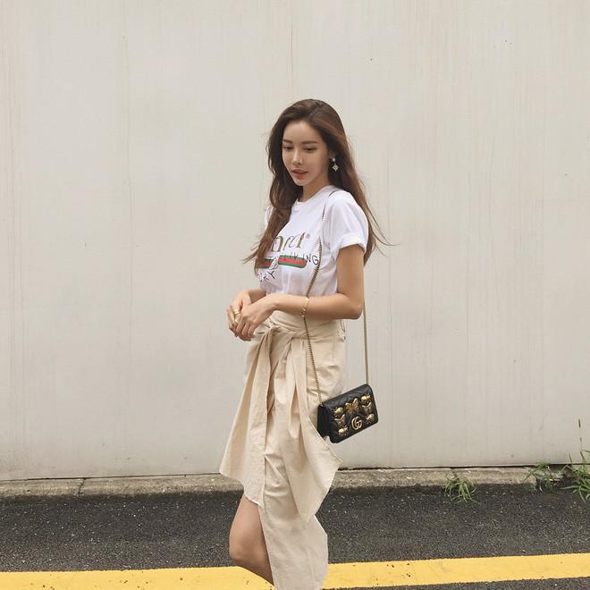 Học cách diện đồ giúp làm dịu cái nắng hè qua street style của các quý cô Châu Á - Ảnh 8.