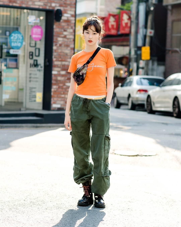 Chẳng cần hành xác, giới trẻ Hàn mặc toàn đồ thoải mái, mát mẻ mà vẫn đẹp phát thèm - Ảnh 4.
