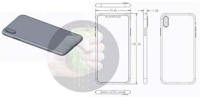 Lộ bản vẽ thiết kế và ảnh dựng của 3 mẫu iPhone 2018 - Ảnh 2.