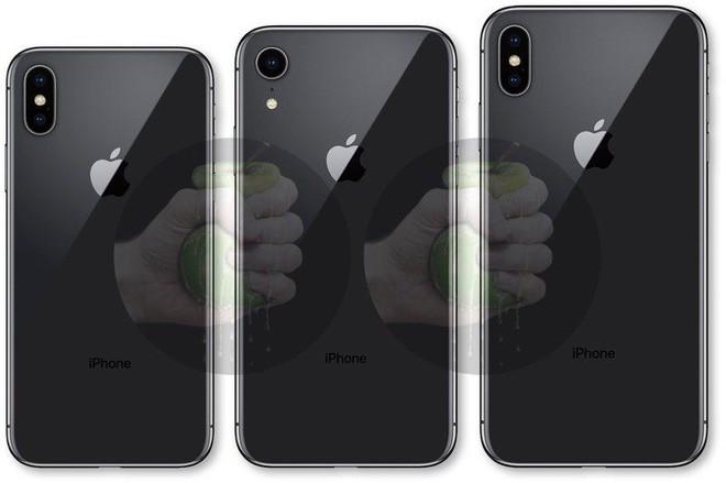 Lộ bản vẽ thiết kế và ảnh dựng của 3 mẫu iPhone 2018 - Ảnh 3.