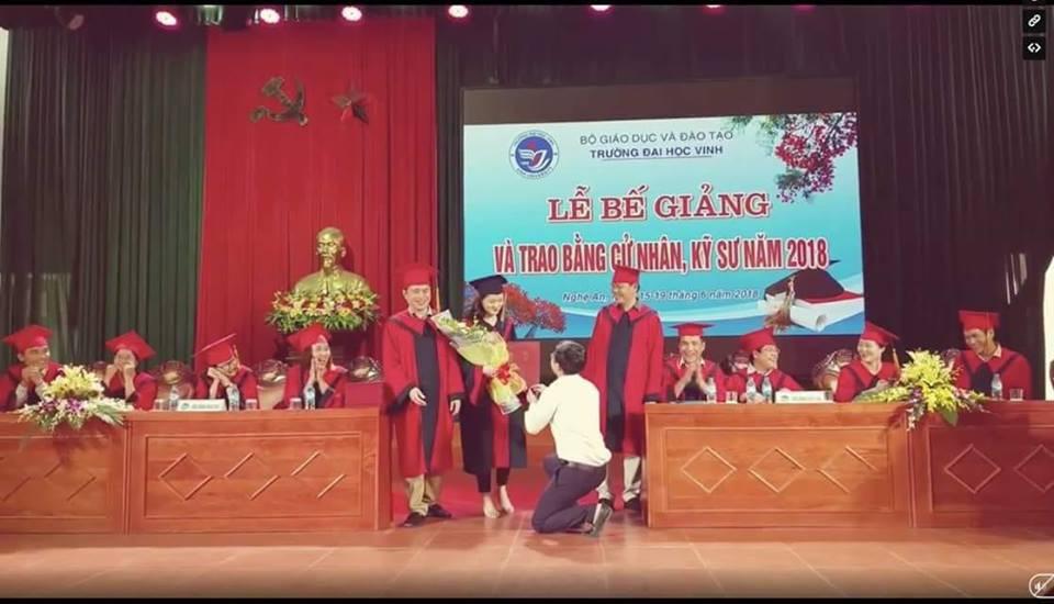 Lãnh đạo trường Đại học Vinh lên tiếng sau vụ Phó bí thư đoàn cầu hôn sinh viên - Ảnh 1.