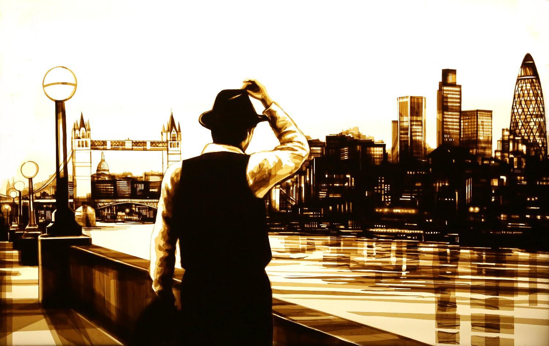Những tác phẩm của Max Zorn - họa sĩ trẻ chỉ thích vẽ tranh bằng băng dính - Ảnh 4.
