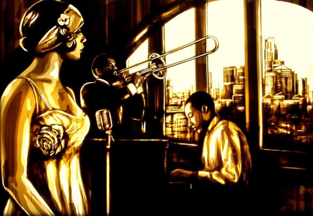 Những tác phẩm của Max Zorn - họa sĩ trẻ chỉ thích vẽ tranh bằng băng dính - Ảnh 8.