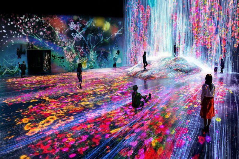 Ghé thăm bảo tàng kỹ thuật số độc đáo ở Nhật Bản: Một thế giới mới ảo diệu đến choáng ngợp, chẳng khác gì khung cảnh trong phim Avatar - Ảnh 1.