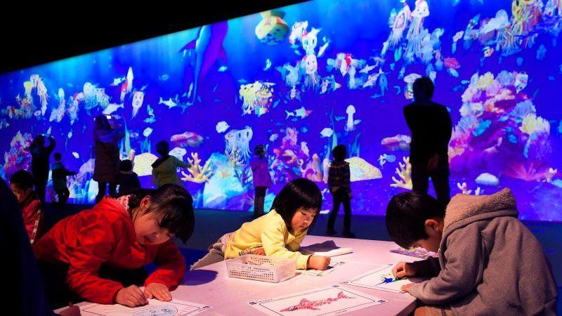 Ghé thăm bảo tàng kỹ thuật số độc đáo ở Nhật Bản: Một thế giới mới ảo diệu đến choáng ngợp, chẳng khác gì khung cảnh trong phim Avatar - Ảnh 9.