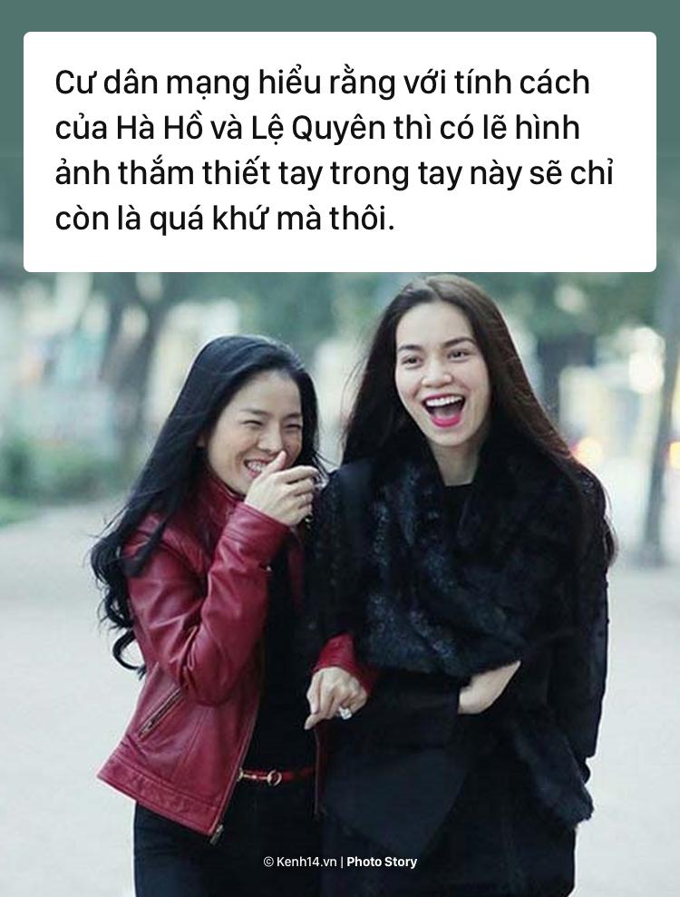 Hồ Ngọc Hà - Lệ Quyên: Từ chuyện khoe nhẫn kim cương nhìn lại tình bạn - Ảnh 13.