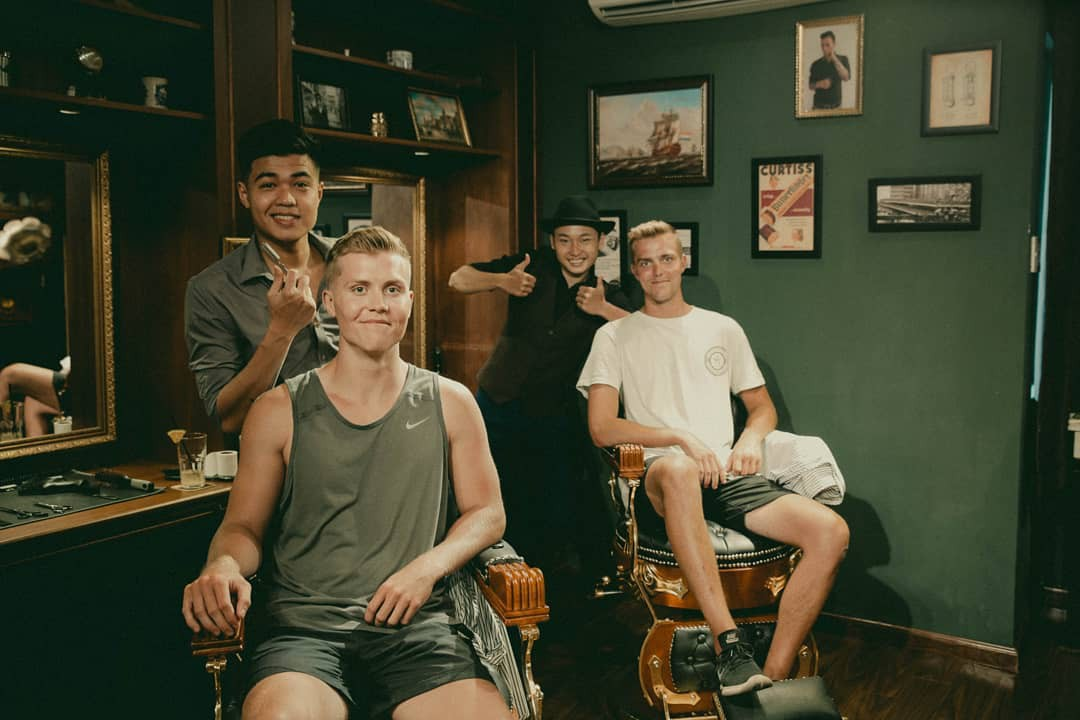 Ở Sài Gòn, nhất định phải thử ghé qua 3 tiệm này cắt tóc để trải nghiệm văn hoá quý ông - Ảnh 6.