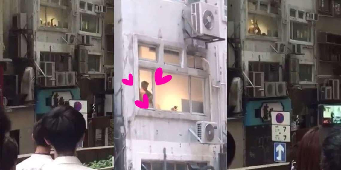 Hong Kong: Người dân tụ vạ dưới sân chung cư xem phim tình cảm miễn phí rồi phát hoảng khi phát hiện đó là hai... nam nhân - Ảnh 2.