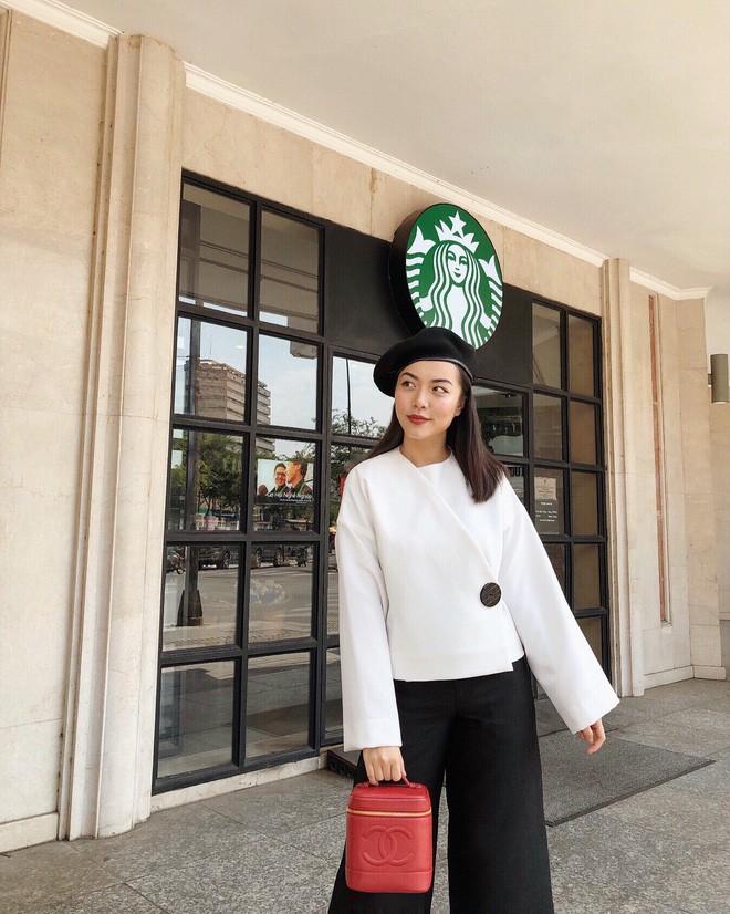 """Học nàng hot girl được ví là """"bản sao của Hà Tăng"""" cách diện đồ thanh lịch đầy thu hút - Ảnh 6."""